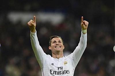 Cristiano Ronaldo copyright AFP