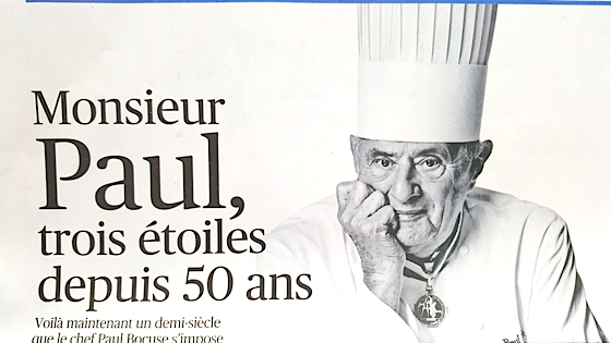 Paul Bocuse Le Figaro