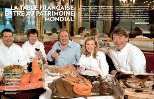 2010 Paris Match fait les gros titres