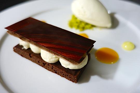 chocolat/marron recette pourcel