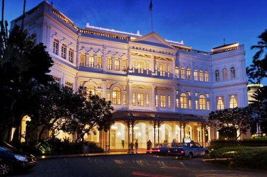 Le Raffles Hôtel à Singapour
