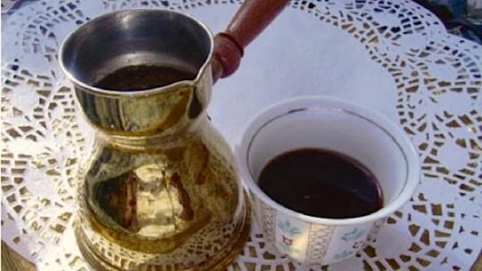 Le  café arabe classe Patrimoine immatériel de l'Unesco