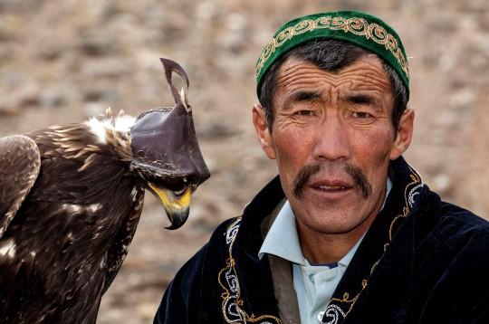 Les aigles chasseurs de l'Altaï ont été inscrits au Patrimoine mondial immatériel de l'Unesco en 2010.