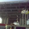 Visite sur le chantier de l'Expo Universelle