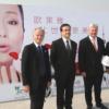 La photo de Gong Li devant le portrait Harcourt…