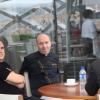 Rencontre de deux chefs au Pavillon France !