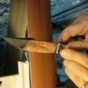 Naissance du couteau » Jardin des Sens «… dans les mains de Claude Giraud