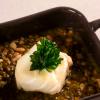 La recette de la semaine : Lentilles en bouillon, dos de cabillaud
