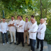 Sortie du numéro d'été du magazine Midi Gourmand au restaurant le Mazerand à Lattes