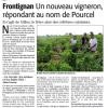 La presse en parle : dans la famille Pourcel, on fait aussi du vin…