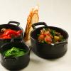 La recette de la semaine : chichoumeye poivrons à l'huile et caviar de courgettes