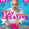 » Stay Creative » en couverture du magazine Wired au mois d'octobre, découvrez sa recette de l'innovation