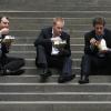 En France, plus que 25 % de la population déjeune à la maison