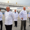 Plats de chefs sur les compagnies aériennes