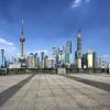 Chine – Exceptionnelle Canicule sur le Bund à Shanghai -