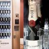Le premier distributeur de Champagne automatique au monde
