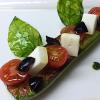 Recette de la semaine : Calamars grillés à la plancha, tendres courgettes à l'italienne, citrons confits en vinaigrette