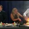 Ramsay applique une version express pour faire griller le bacon… la plaque et le net s'enflamme !