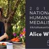 la chef Alice Waters honorée par Barack Obama