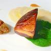 12 recettes pour accompagner vos Fêtes – Escalope de foie gras de canard, fraîcheur de poires ( 4 )