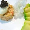 12 recettes pour accompagner vos Fêtes – Fraîcheur de chair de crabe, avocat et caviar ( 6 )
